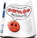 Just cancel the account! Image source: pcworld.com