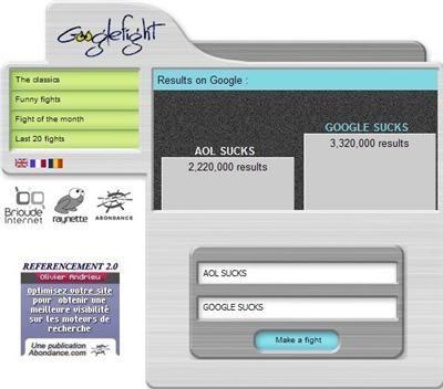 AOL/Google Fight