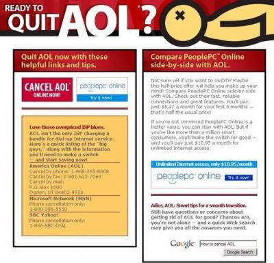 You can quit AOL, too!