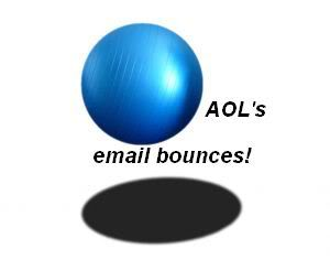 AOL's email bounces