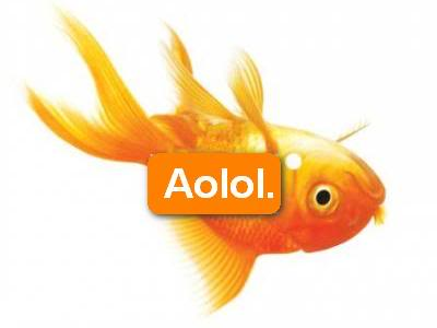 Aol.- like a fish out of water