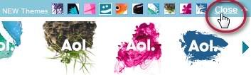Hide AOL logos per visit