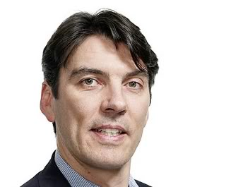 Tim Armstrong: one icy dude  - photo courtesy of Alley Insider
