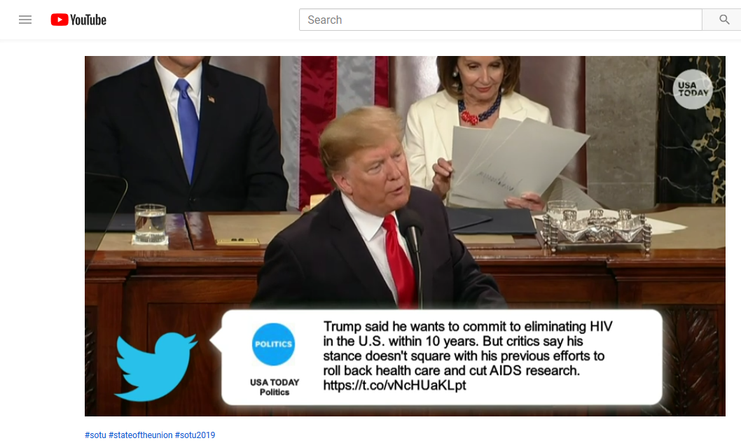 Nancy Pelosi appears to be holding a paper with Trump's signature on it during 2019 SOTU